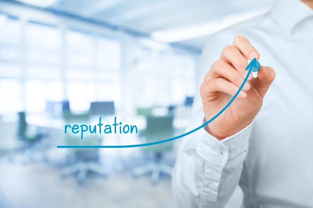 Reputation umfasst vor allem digitale Inhalte.
